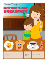 Perpetual-calendar-Special Day-Mother's Day-breakfast