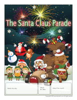 Perpetual calendar-The Santa Claus Parade