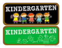 Photo booth-Kindergarten