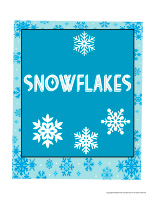 Photo booth-Snowflakes