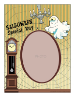 Picture frame-Halloween-Special days