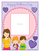 Picture frame-Mother's Day-2021