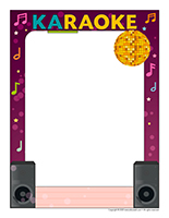 Picture frame-Special-Day-Karaoke