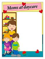 Picture frame-Special Day-Moms at daycare