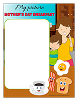 Picture-frame-Special Day-Mother's Day-breakfast