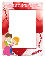 Picture frame-Valentine's Day-A celebration