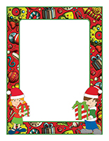 Picture frames-Thematic Day-Christmas Sharing