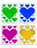 Picture game-Colourful hearts-1