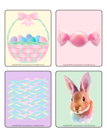 Picture game-Easter Pastel colors-2