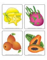 Picture game-Exotic fruit-2
