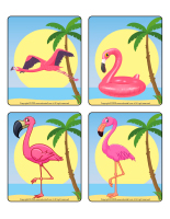 Picture game-Flamingoes-1