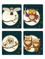 Picture game-Owls