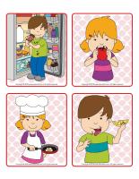 Picture game-Sense of taste