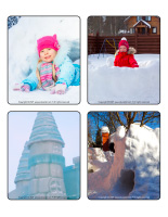 Picture game-Snow castles-1