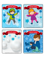 Picture game-Snowflakes-1
