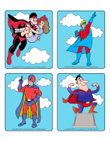 Picture game-Superheroes