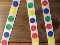 Pinch and create colorful chains-2