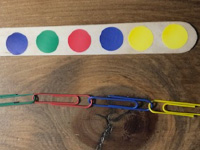 Pinch and create colorful chains-6