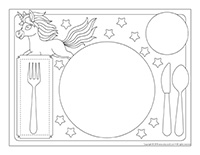 Placemats-Unicorns