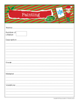 Planning-chart-Christmas-Creative workshops-2
