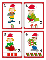 Playing cards-Christmas Sharing-1