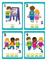 Playing cards-Kindergarten-1