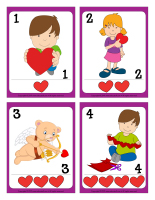 Playing cards-Valentine's Day-1