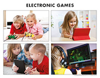 Poni discovers and presents-Electronic games