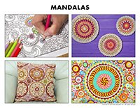 Poni discovers and presents-Mandalas