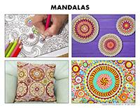 Poni discovers and presents-Mandalas