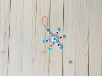 Popsicle Stick Snowflakes-4
