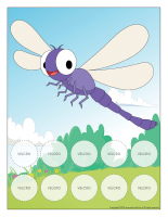 Positive reinforcement system-My dragonfly