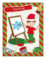 Poster-Christmas-Creative workshops-Painting