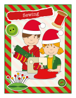 Poster-Christmas-Creative workshops-Sewing