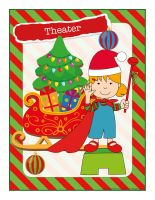 Poster-Christmas-Creative workshops-Theater