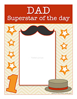 Poster-Dad superstar of the day