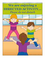 Poster-Directed activities
