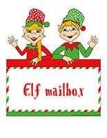 Poster-Elf mailbox