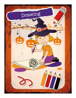 Poster-Halloween-Creative-workshops-Drawing-1
