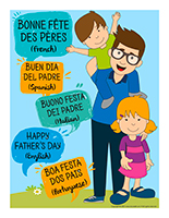 Poster-Happy Father's Day