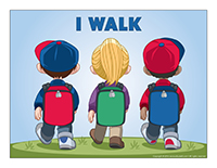 Poster-I walk