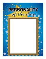 Poster-Personality of the day