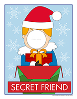 Poster-Secret friend