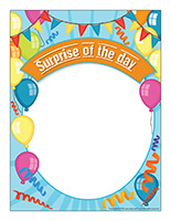 Poster-Surprise child of the day