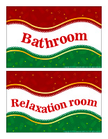 Posters-Christmas room dentification
