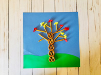 Pretzel Stick Trees-4