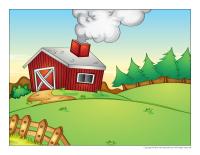Scene-Easter farm