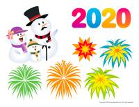 Scene-Happy New Year 2020