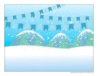 Scene-Snow castles-1