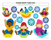 Scene-Snow tube fun-2